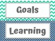 Labels for Learning Goals