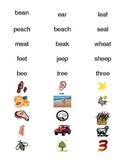 Labels for Long Vowel Center
