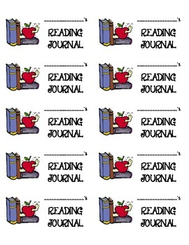 Labels for Reading Journals