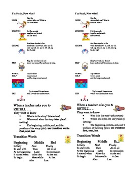 Labels for Reading Success