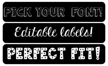 Labels for Sterilite Bins