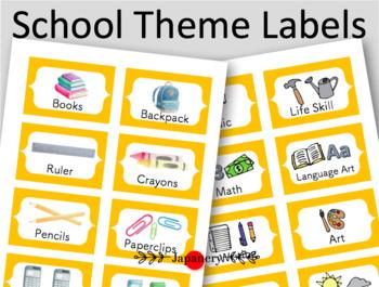 Labels for Teachers / Homeschoolers