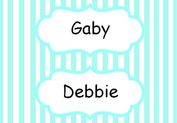 Labels for Trays