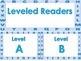 Labels for Word Work and Reading Library with Alphabet Bor