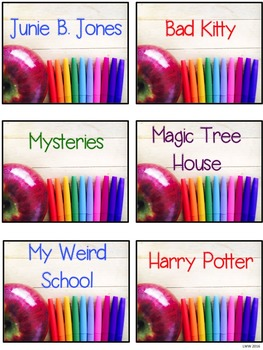 Editable Labels for Work Stations, Classroom Supplies, and Classroom Library