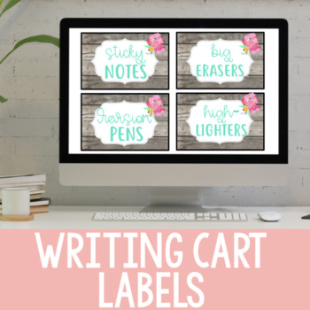 Labels for Writing Workshop Materials