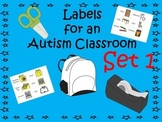 Labels for an Autism Classroom - Set 1
