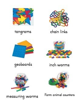 Labels for classroom supplies