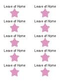 Labels for communication folder- avery 5163