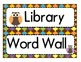 Labels for the Classroom: Owl Theme