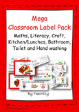 Labels for the Preschool or School