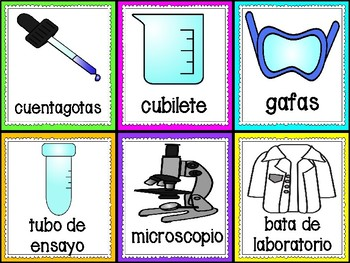 Labels in Spanish Version 2
