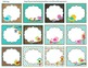 Labels or tags (bird theme) classroom decoration
