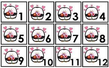 Labels para Calendario mes de Febrero