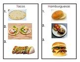 Labels para Centro de Cocina