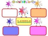 Star - Labels - Classroom Decor