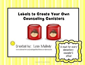 Labels to Create Counesling Canisters