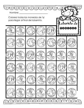 Laberinto de monedas