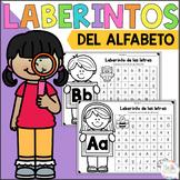 Alphabet activities in Spanish, Alphabet mazes, Laberintos del abecedario