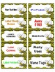 Labels Cute Bumble Bee 10 per page 8 different designs Che