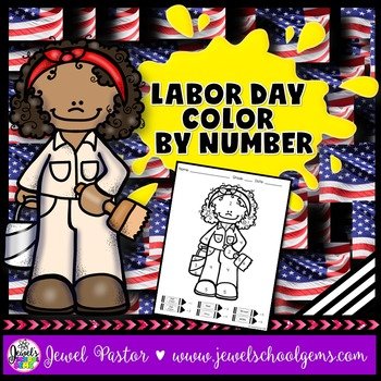 Labor Day Color By Number