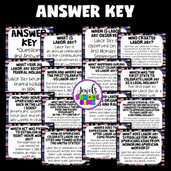 Labor Day Activities (Labor Day QR Codes Scavenger Hunt)