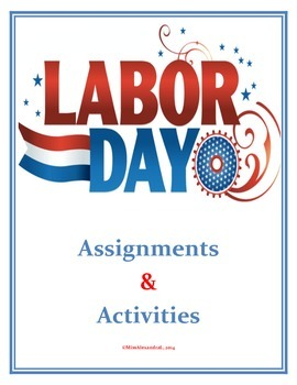 Labor Day Activities (Middle / Junior High School)