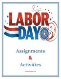 Labor Day Activities (Middle / Junior High School)