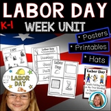 Labor Day Activities Printables Week Lesson Plan