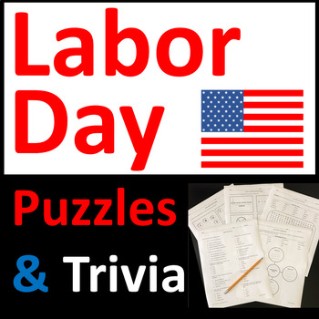Labor Day Activities, Puzzles, and Trivia Questions