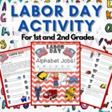 Labor Day Activity: Alphabet Jobs