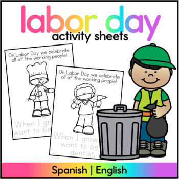 Labor Day Activity/ English and Spanish