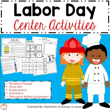 Labor Day Activity Packet