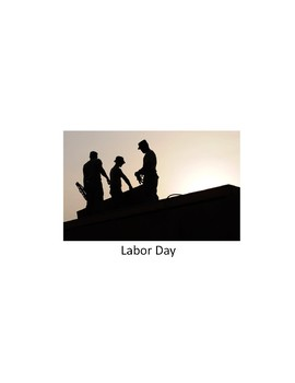 Labor Day Adapted Book with Questions