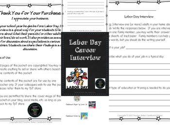 Labor Day Career Interview