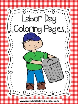 Labor Day U.S. / Labour Day Canada | Free Coloring Pages | crayola.com | 350x263