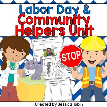 Labor Day and Community Helpers Activities