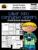 Labor Day/ Community Helpers Unit - Interacitve Notebook