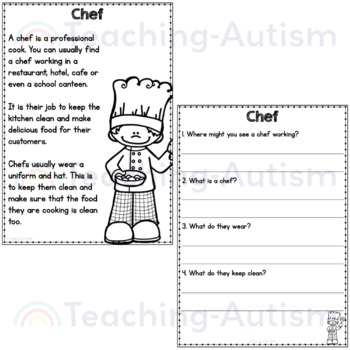 Labor Day Reading Comprehension Passages and Questions
