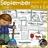 Labor Day, Constitution Day, Johnny Appleseed: September-t