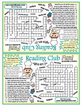 Labor Day Crossword Puzzle (Puzzle Pals)
