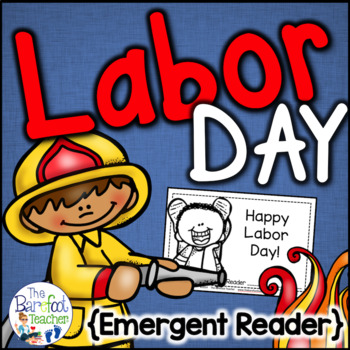 Labor Day Emergent Reader {Community Helpers}