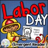 Labor Day Emergent Reader {Community Helpers}