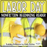 Labor Day Emergent Reader for Beginning Readers