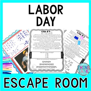 Labor Day Escape Room - Holiday Activity- September