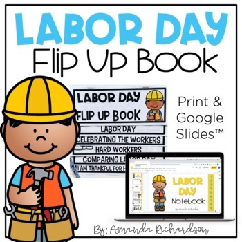 Labor Day Flip Up Book