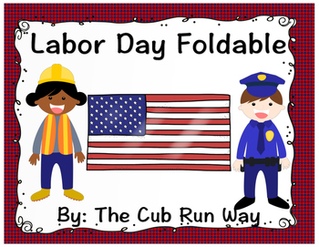 Labor Day Foldable