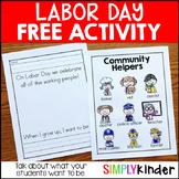 Labor Day Activity.