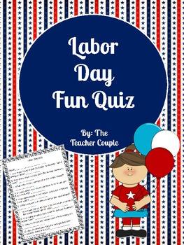 Labor Day Fun Quiz