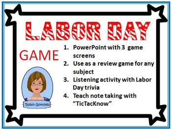 Labor Day Game